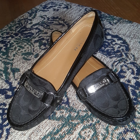 6ac10a3b983 Coach Shoes - Coach Felisha Logo Loafers